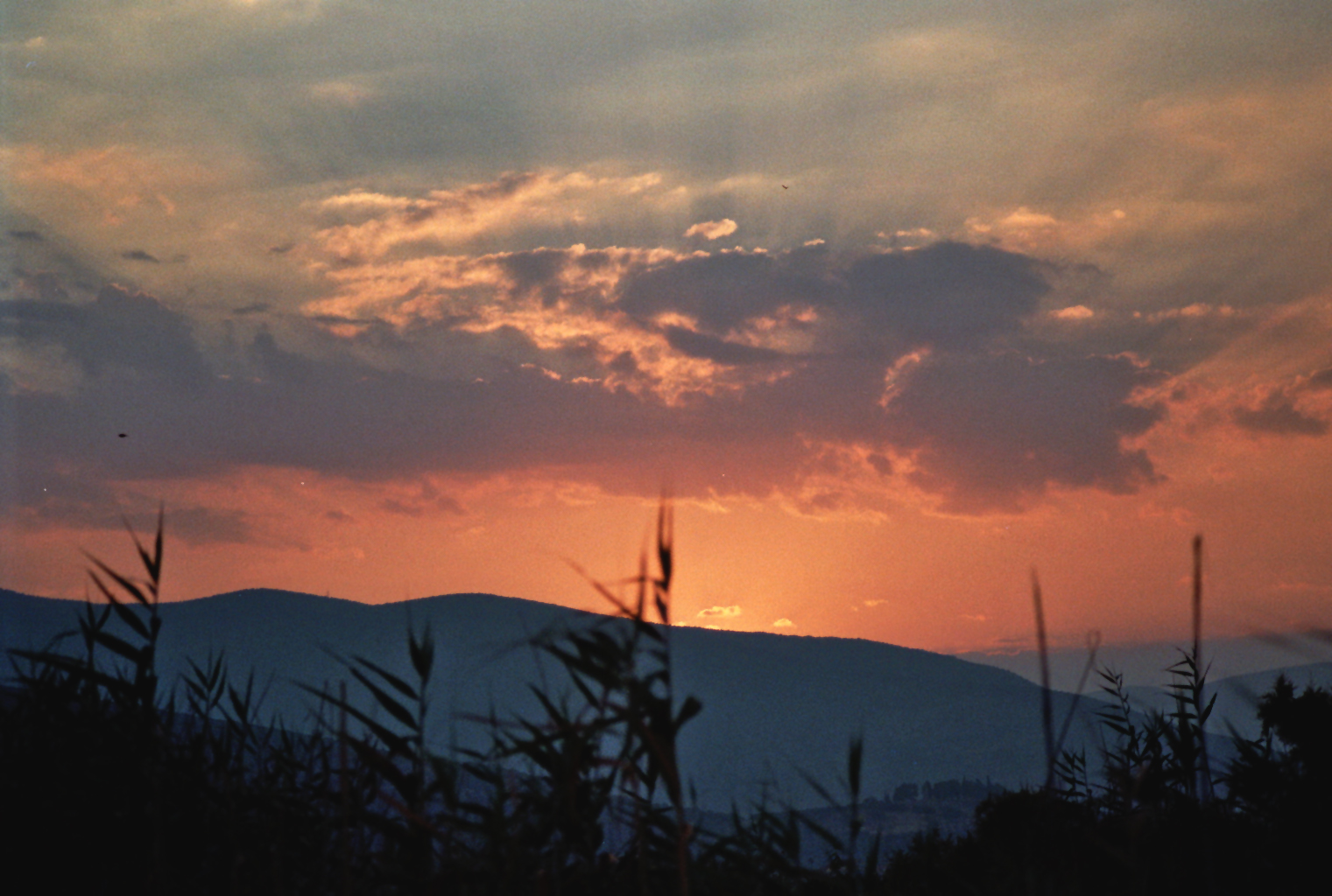 Paralia Astros - Sonnenuntergang