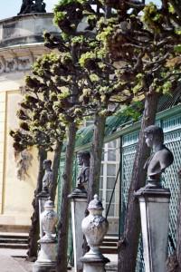 Am Schloß Sanssouci