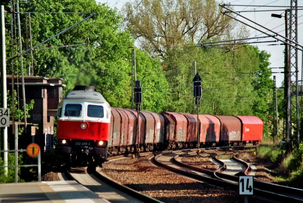 Güterzug in Bestensee (1)