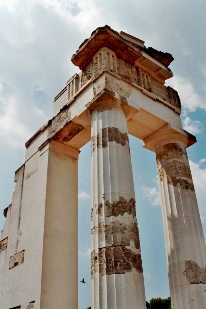 Das Propylon des Gymnasiums (Epidauros)