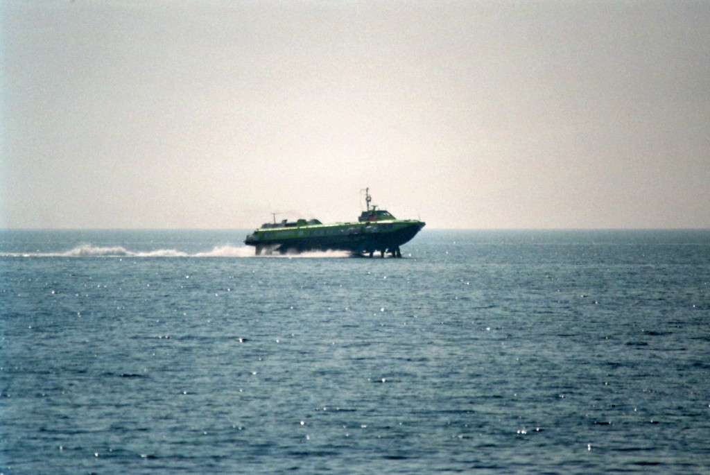 Katamaran Schnellboot