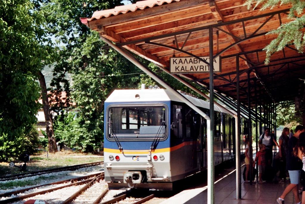 Kalavrita Bahnhof