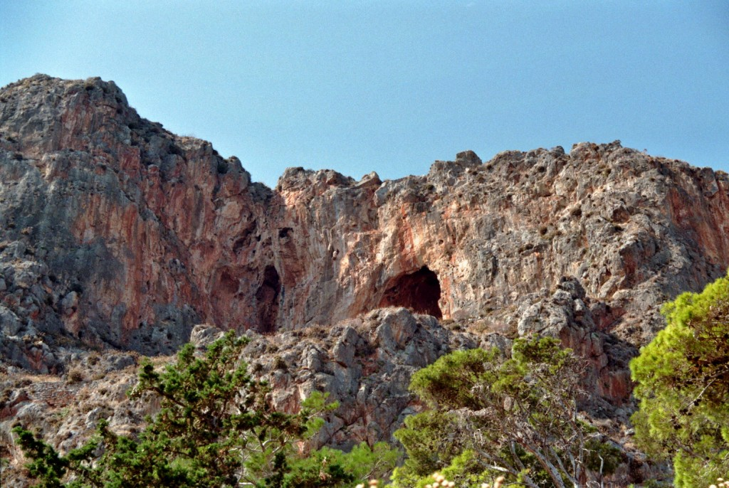Felsmassiv (Monemvasia)