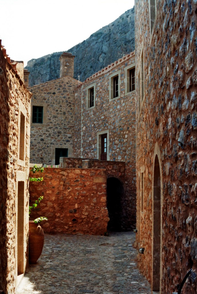 Eine Gasse in Monemvasia