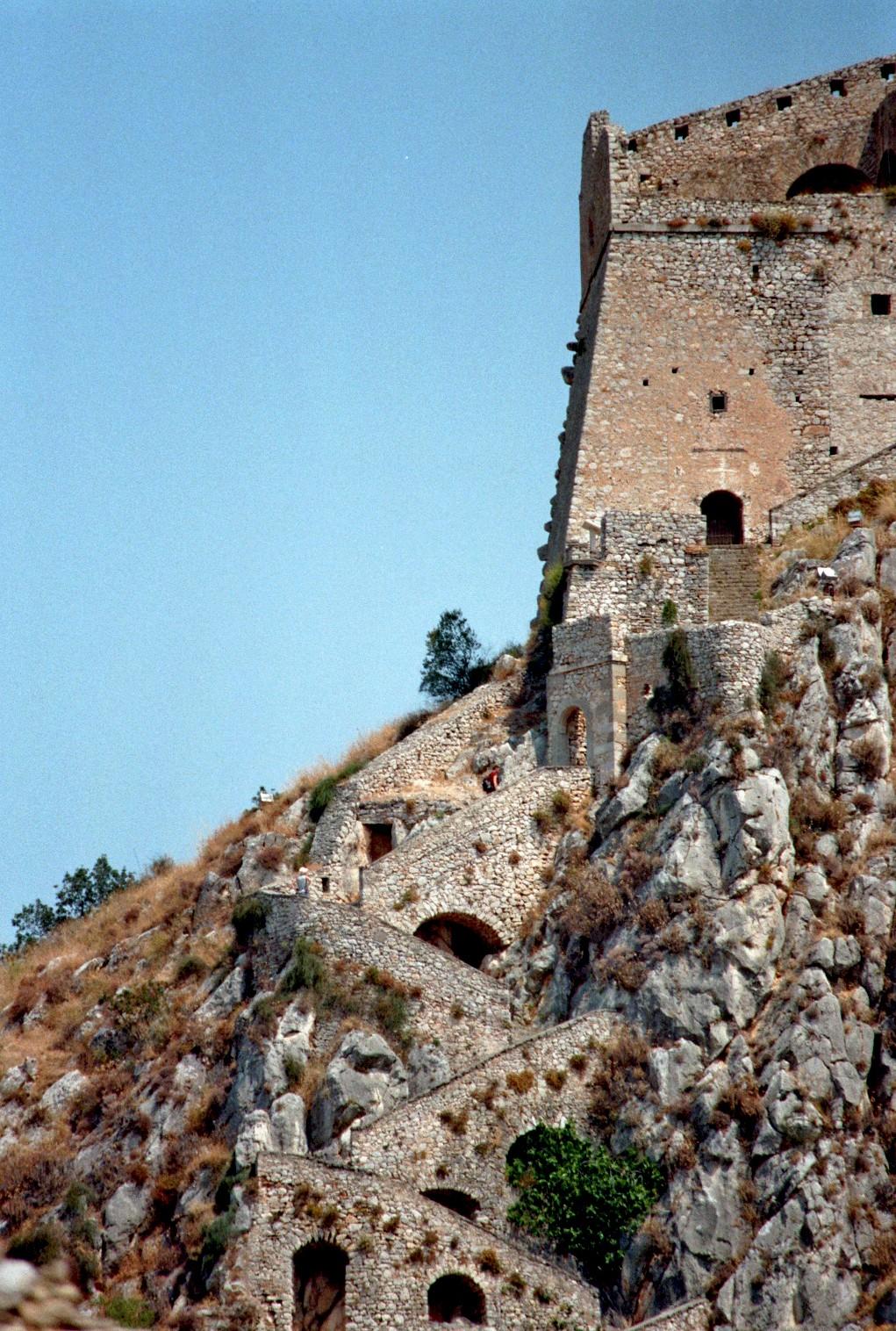 Treppe zur oberen Burg (Nafplio)