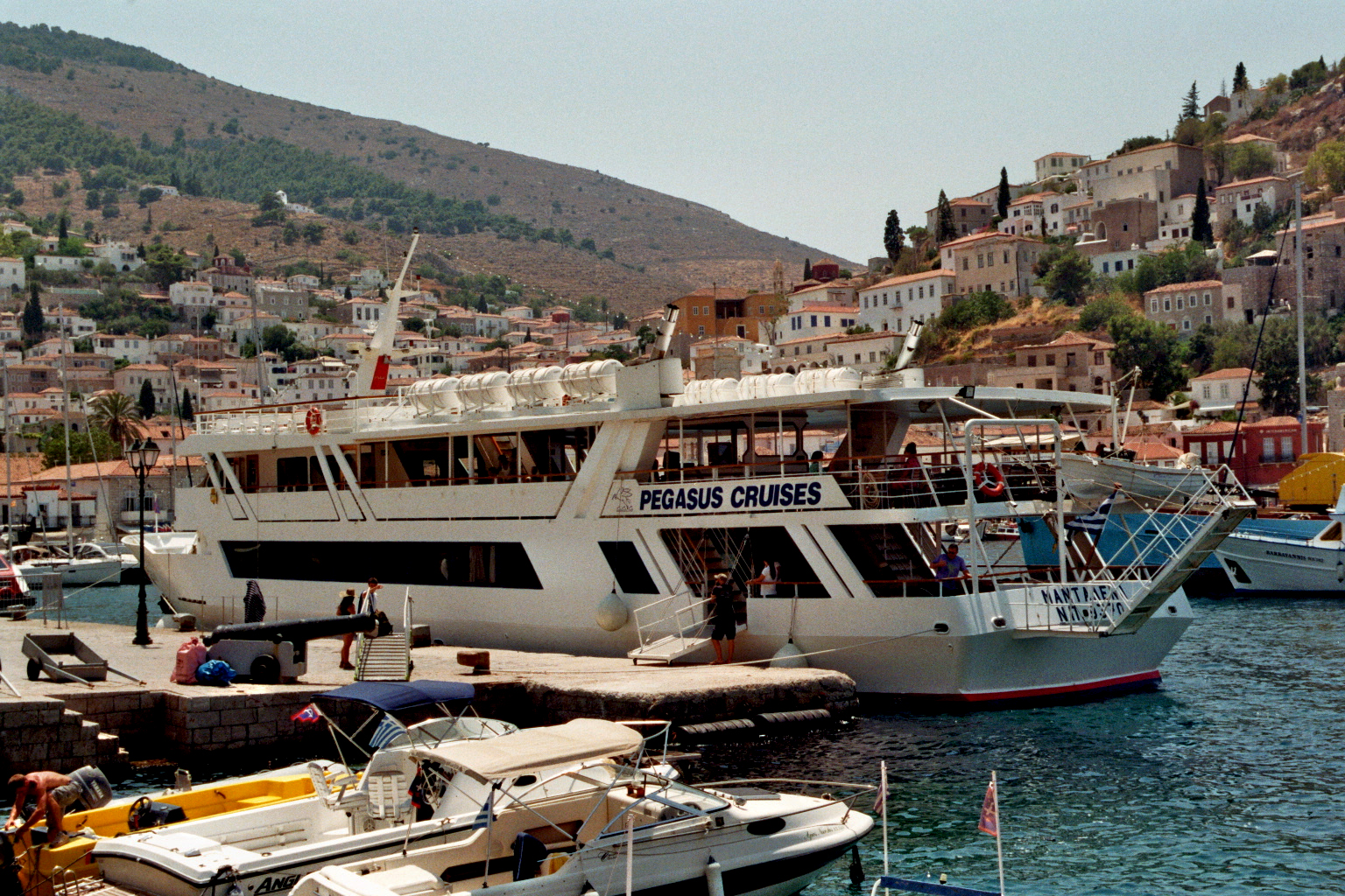 Pegasus Cruises Tagesfahrten nach Hydra und Spetses