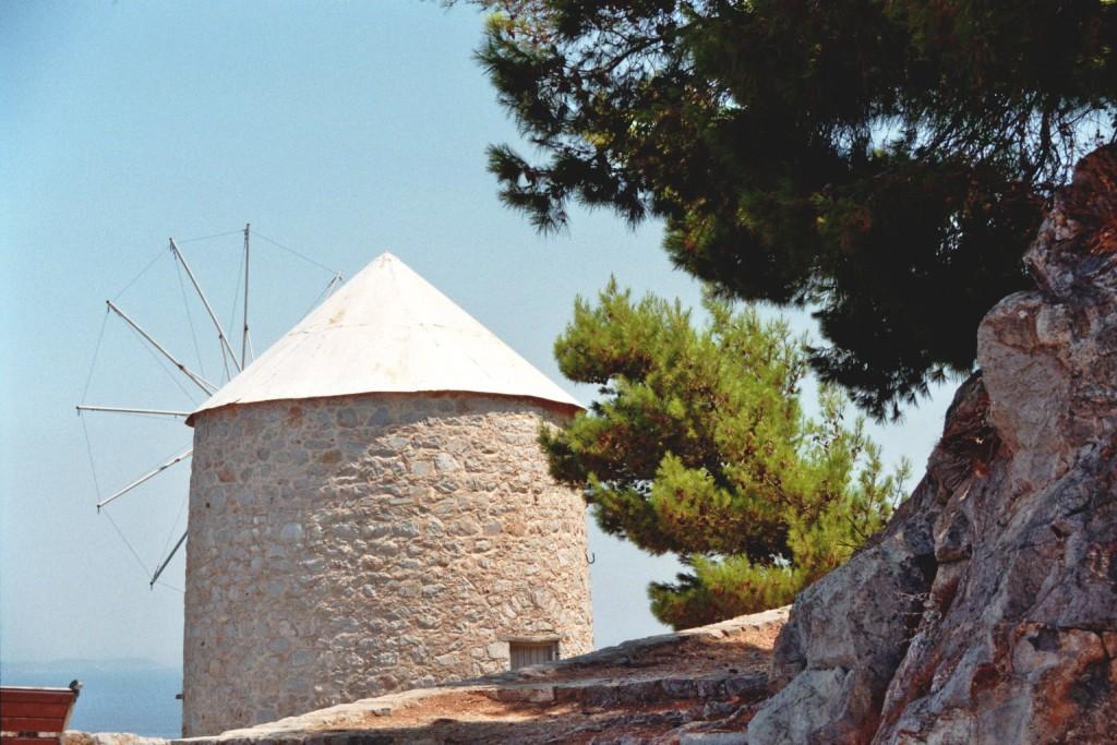 Windmühle auf Hydra