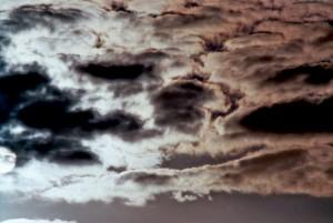 Wolken im Mondlicht
