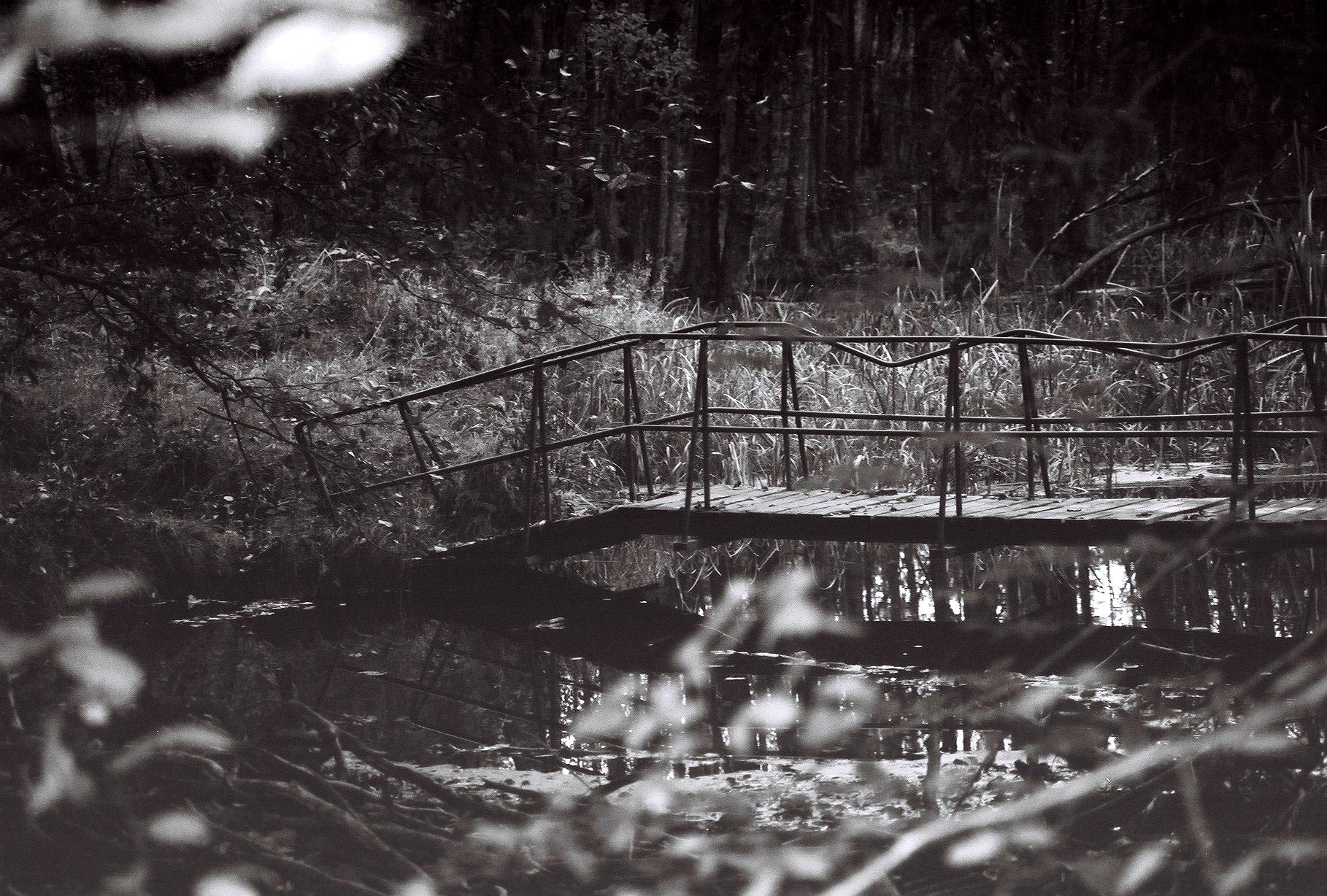 Alte Brücke über die Briese