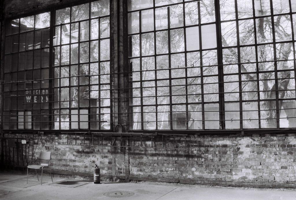 Innenansicht Werkstatthalle