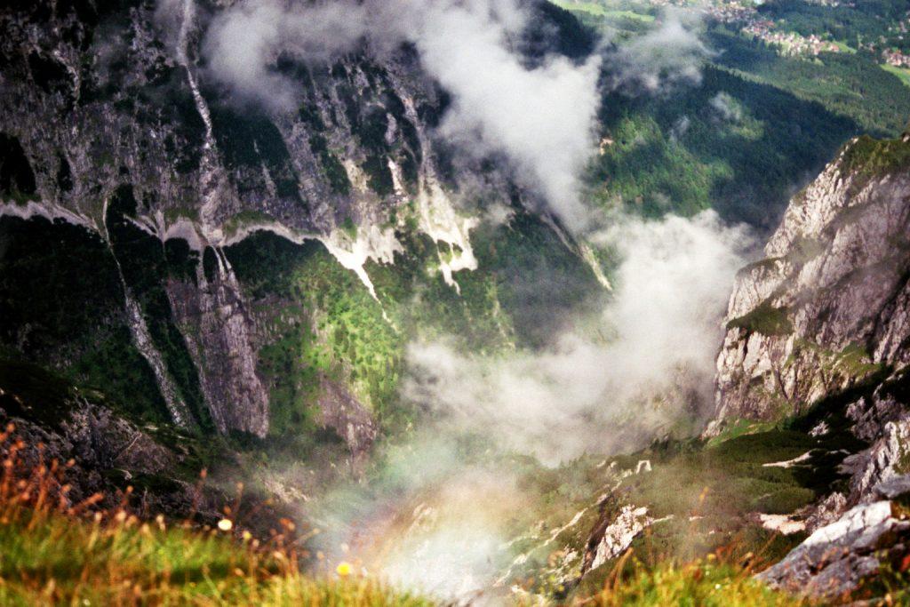 Bunter Alpspitzblick