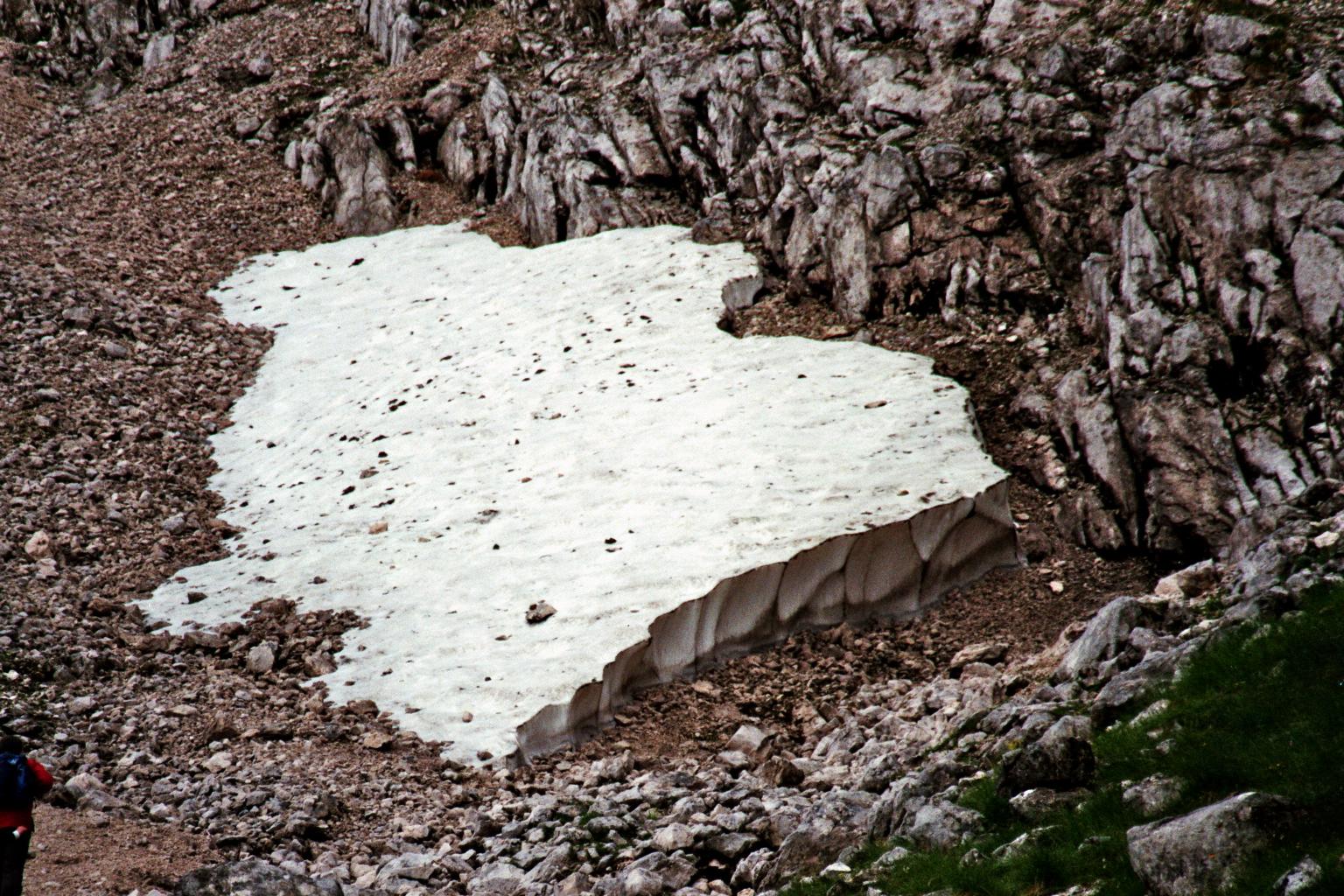 Alpspix-Wanderung (Gletscherrest)