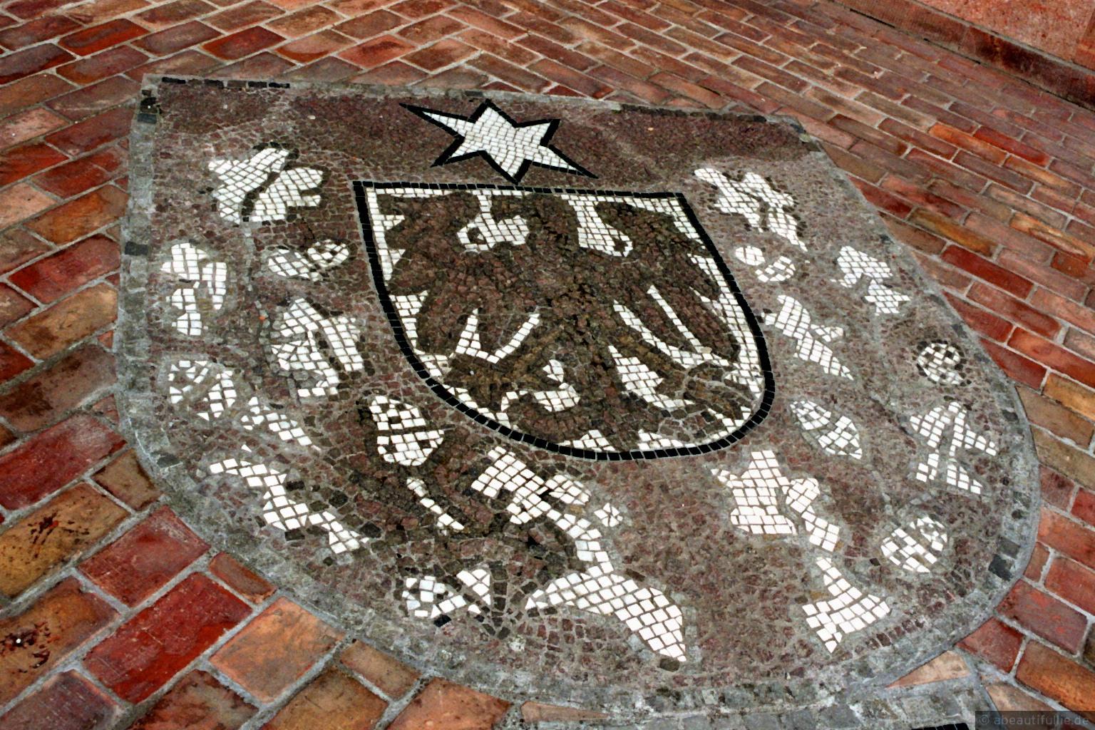 Bodenmosaik im Grunewaldturm