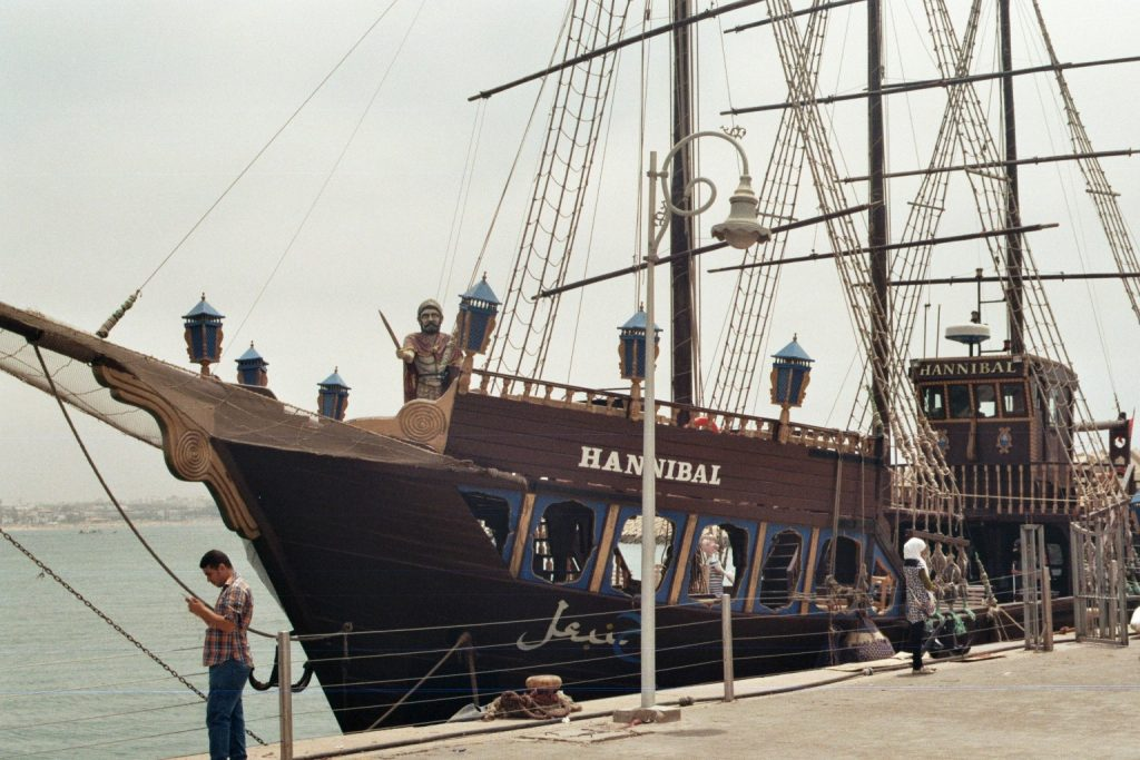 Am Hafen in Agadir - Hannibal