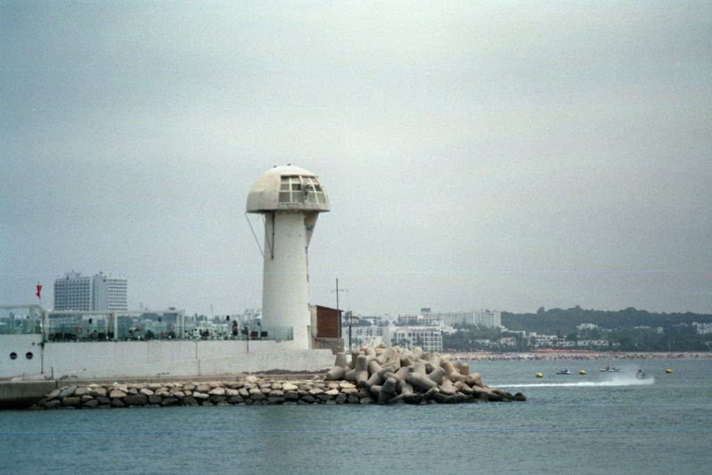 Am Hafen in Agadir - Kontrollturm