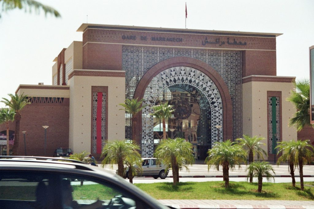 Gare de Marrakech (Bahnhof Marrakesch)