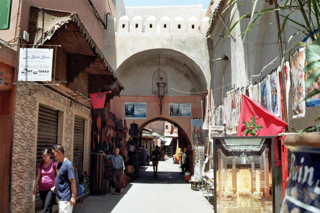 In den Gassen von Marrakesch - 1