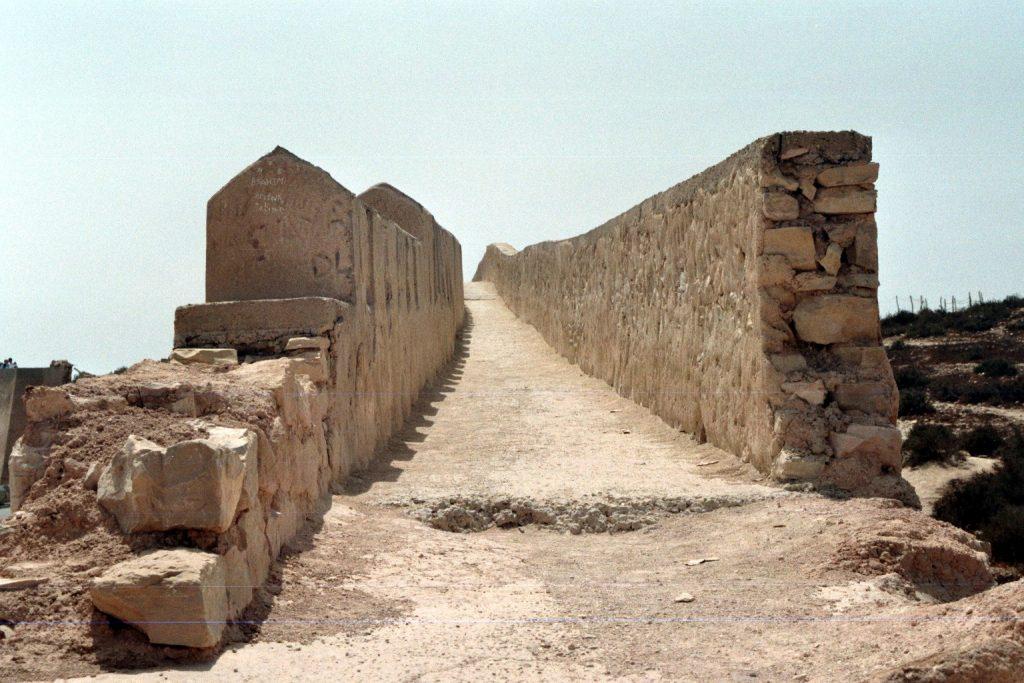 Mauerweg auf der Kasbah