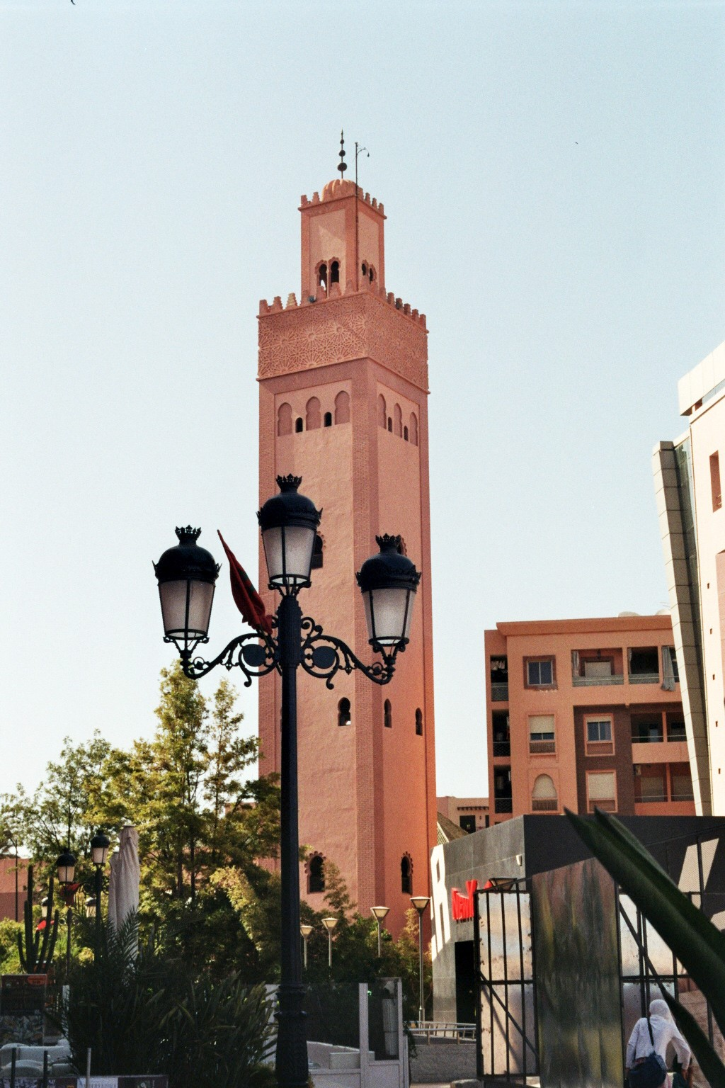 Minarett in Marrakesch (2)