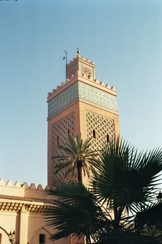 Minarett in Marrakesch