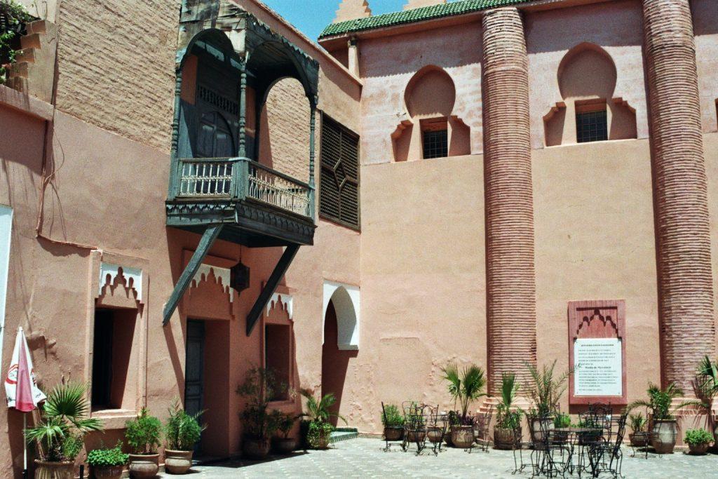 Musee de Marrakech Innenhof