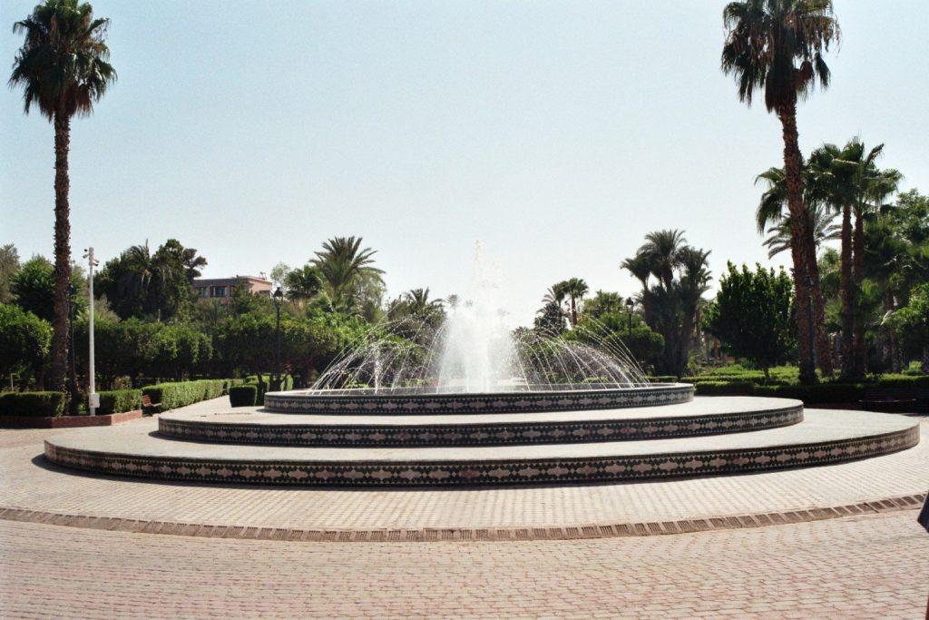 Springbrunnen im Parc Lalla Hasna
