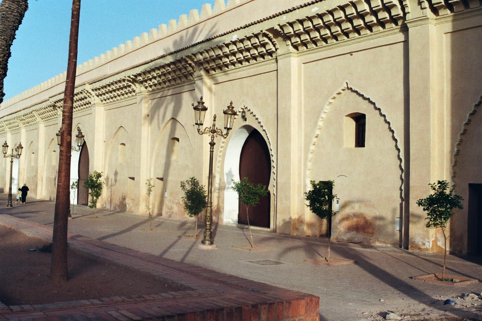 Stadtmauer in Marrakesch