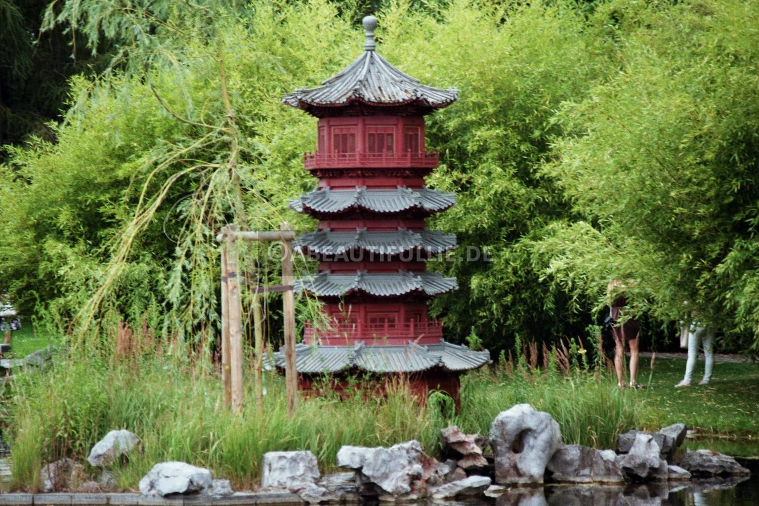 Teich am chinesischen Garten