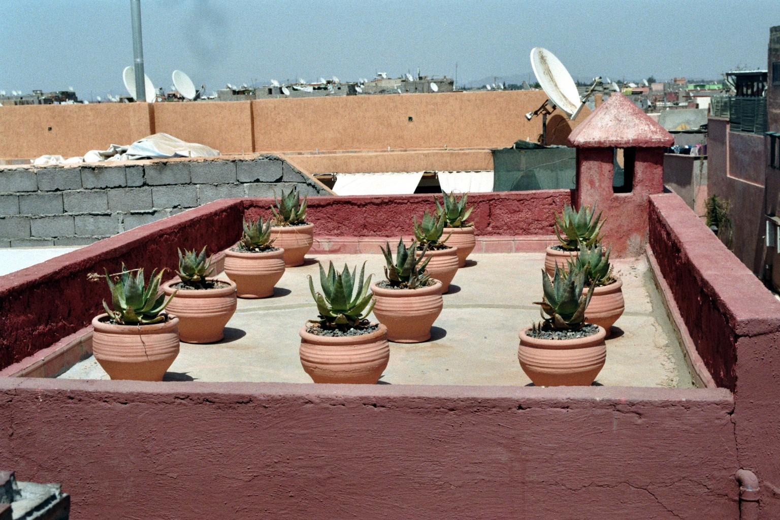 Terrasse am Maison De La Photographie