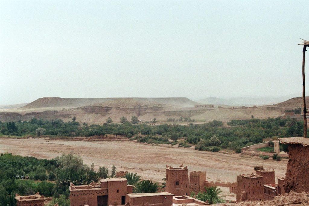 Blick von Aït-Ben-Haddou