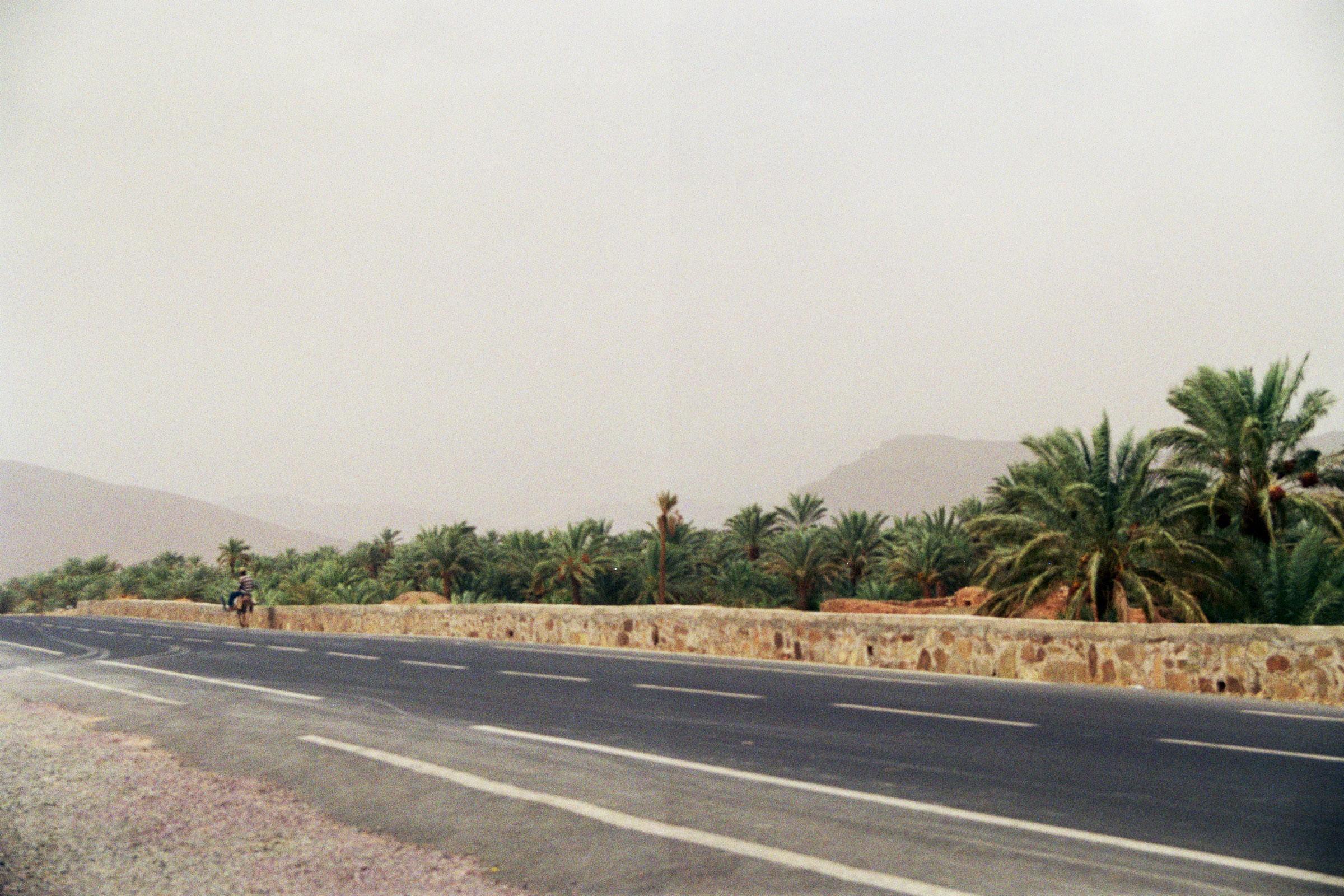 Entlang der Oase am Draa-Tal
