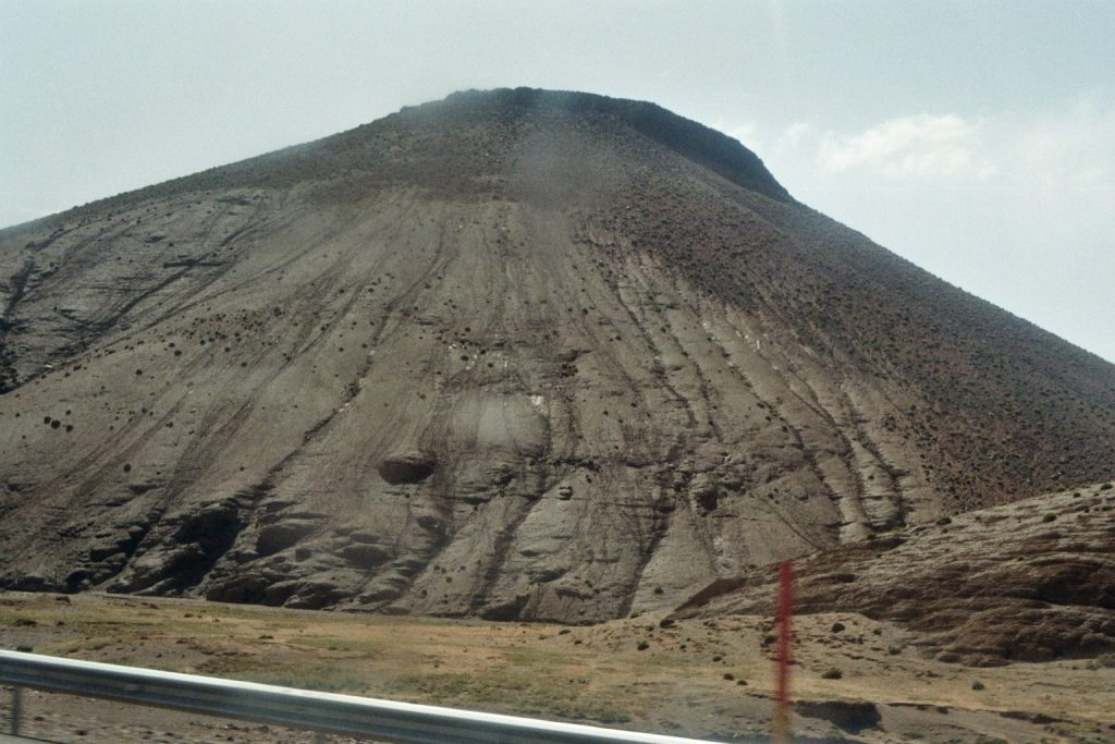 Fahrtbild: Hoher Berg im Hohen Atlas