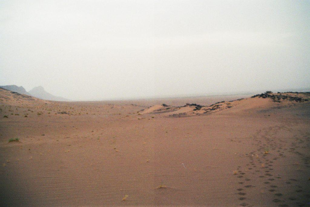 Geschafft! Die Sahara.