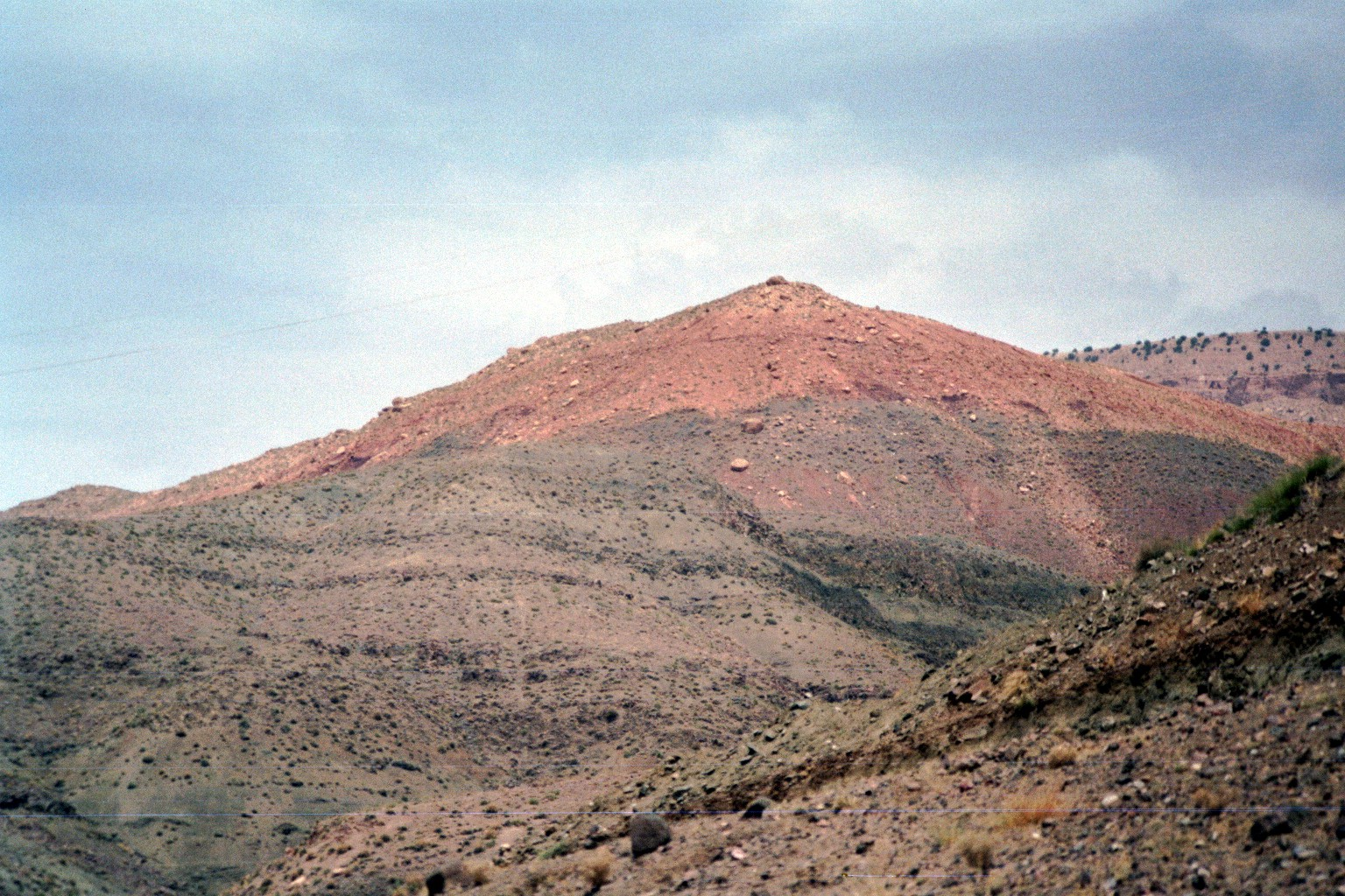 Roter Berg im Hohen Atlas
