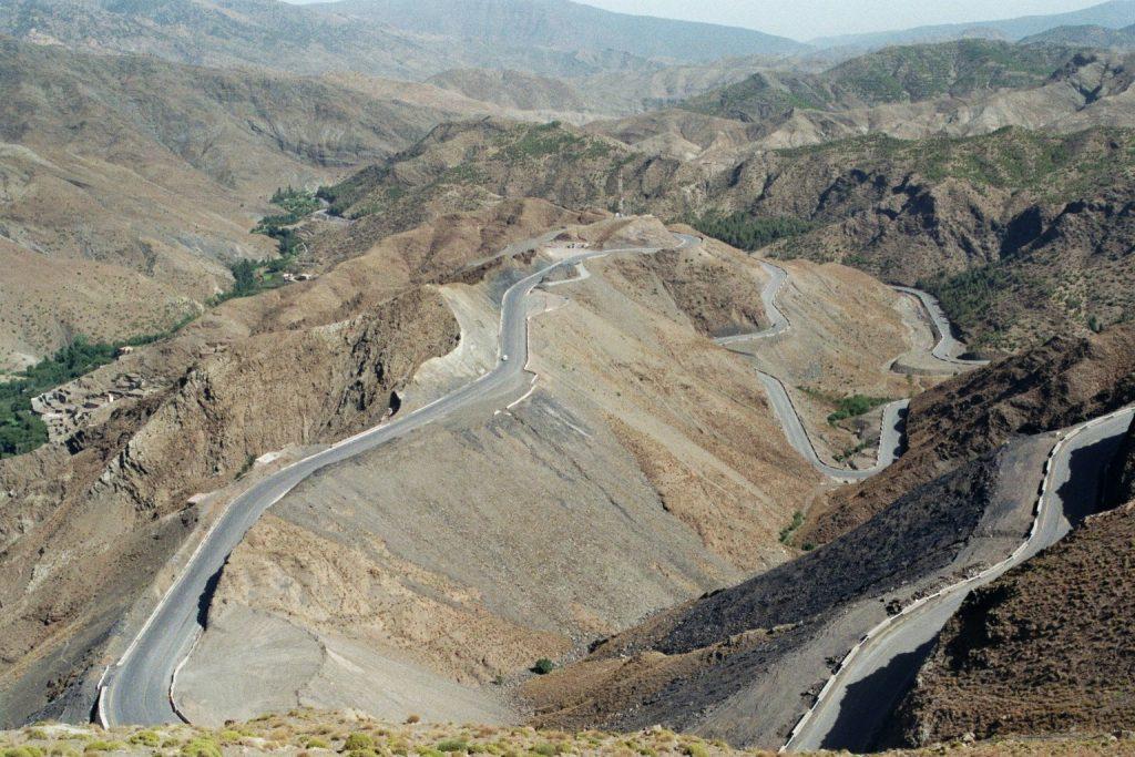 Unser Weg durch den hohen Atlas