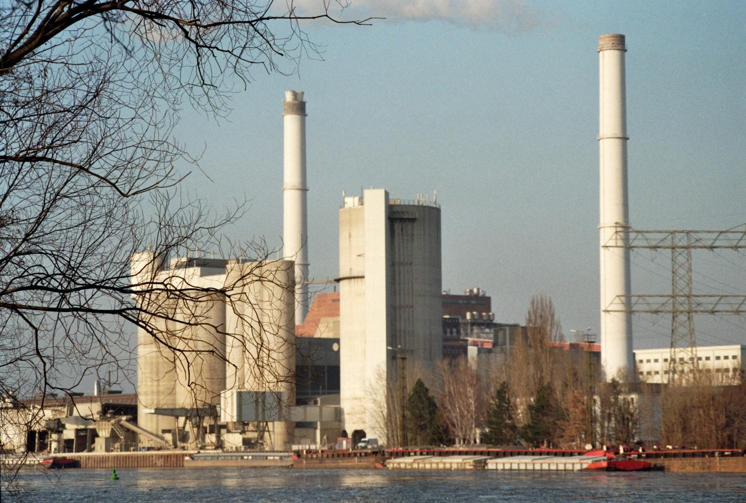 Heizkraftwerk Klingenberg Rummelsburg