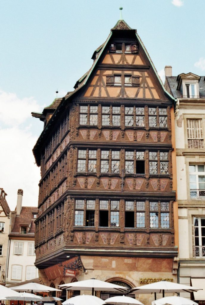 Haus am place de la Cathedrale