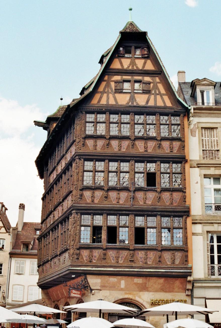 Haus am place de la Cathedrale
