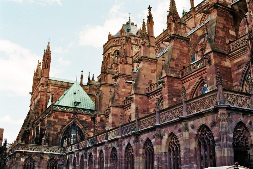 Straßburger Münster Rückseite