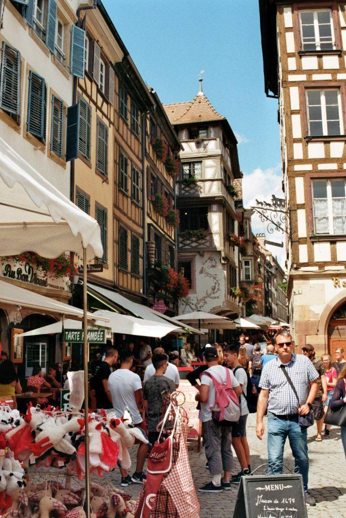 Rue du vieux marché aux poissons