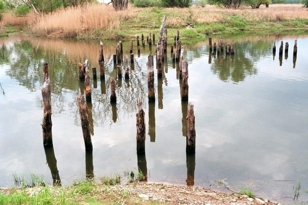 Ehemalige Holzbrücke?