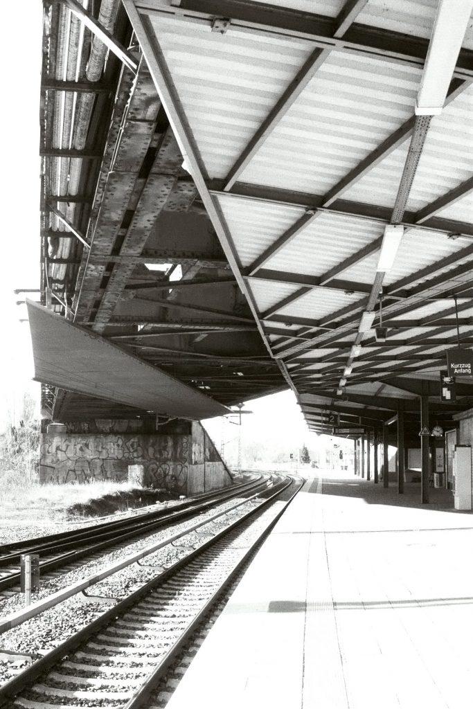 Bahnsteig Betriebsbahnhof Rummelsburg