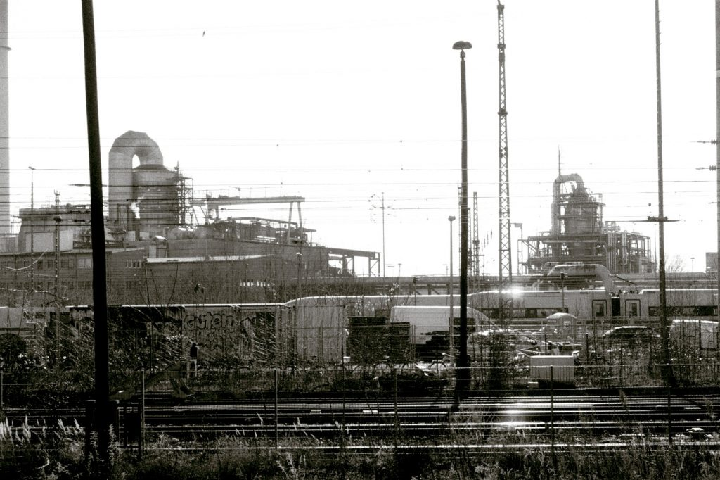 Klingenberg Blick vom Bahnsteig