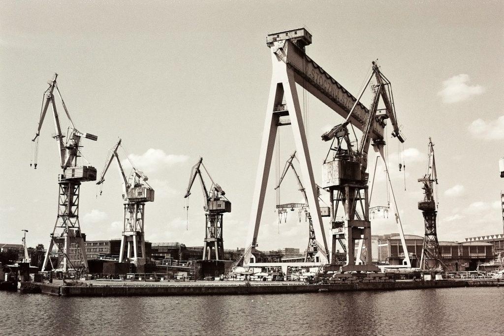 Hafenkräne