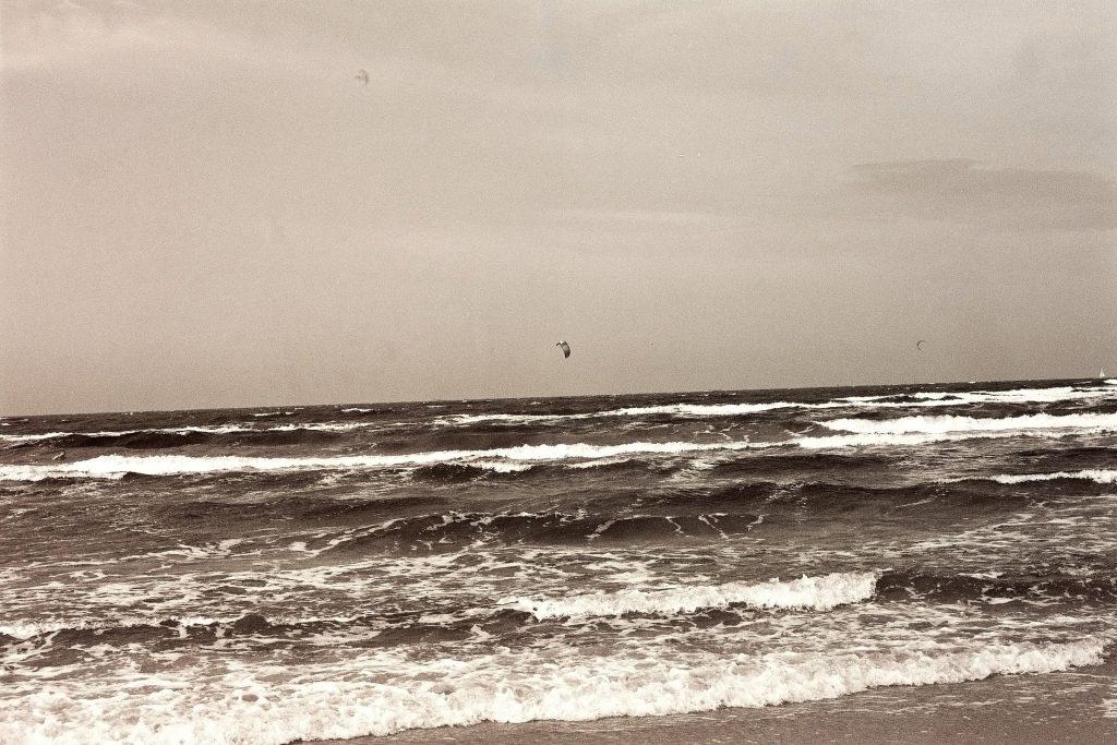 Am Strand von Świnoujście/Swinemünde