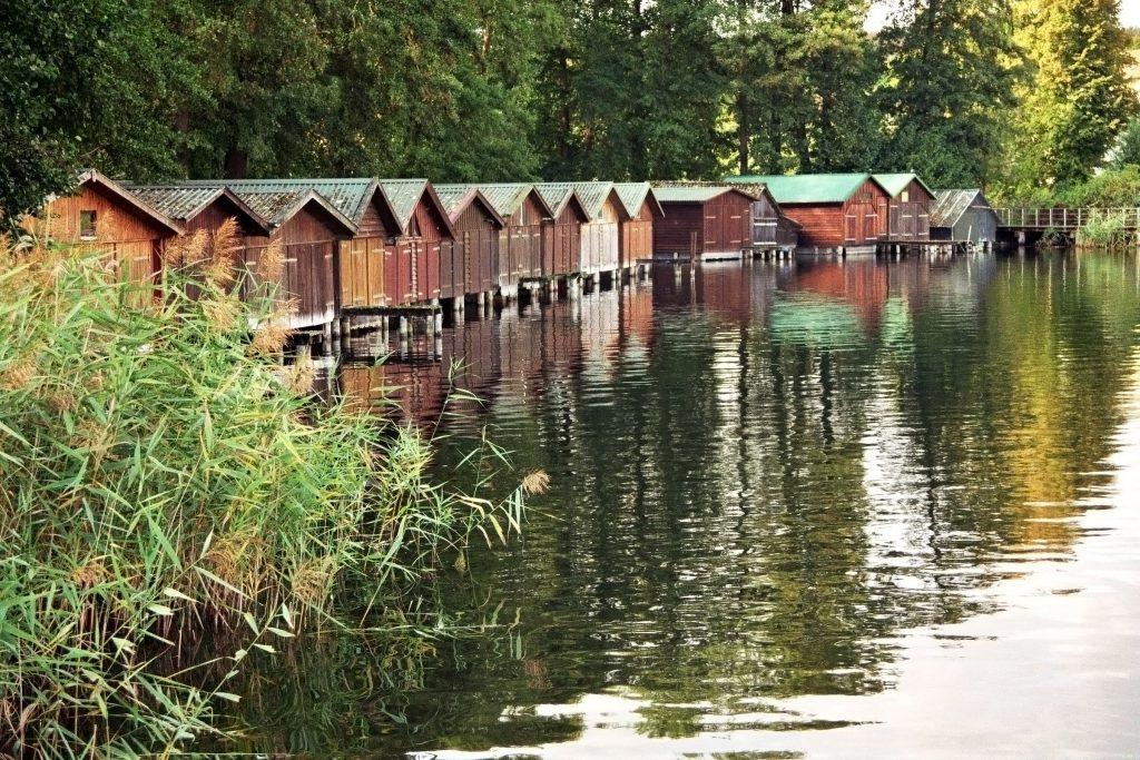 Bootgaragen am Haussee