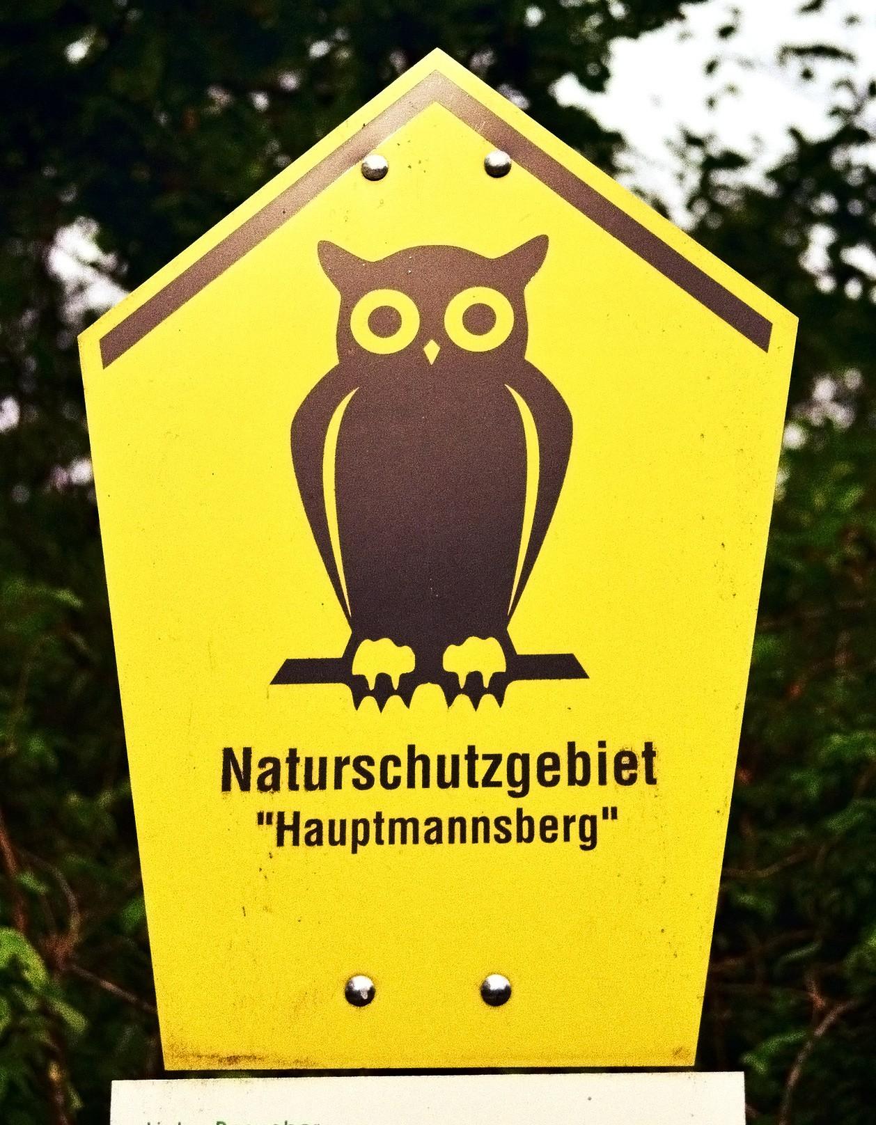 Naturschutzgebiet Hauptmannsberg