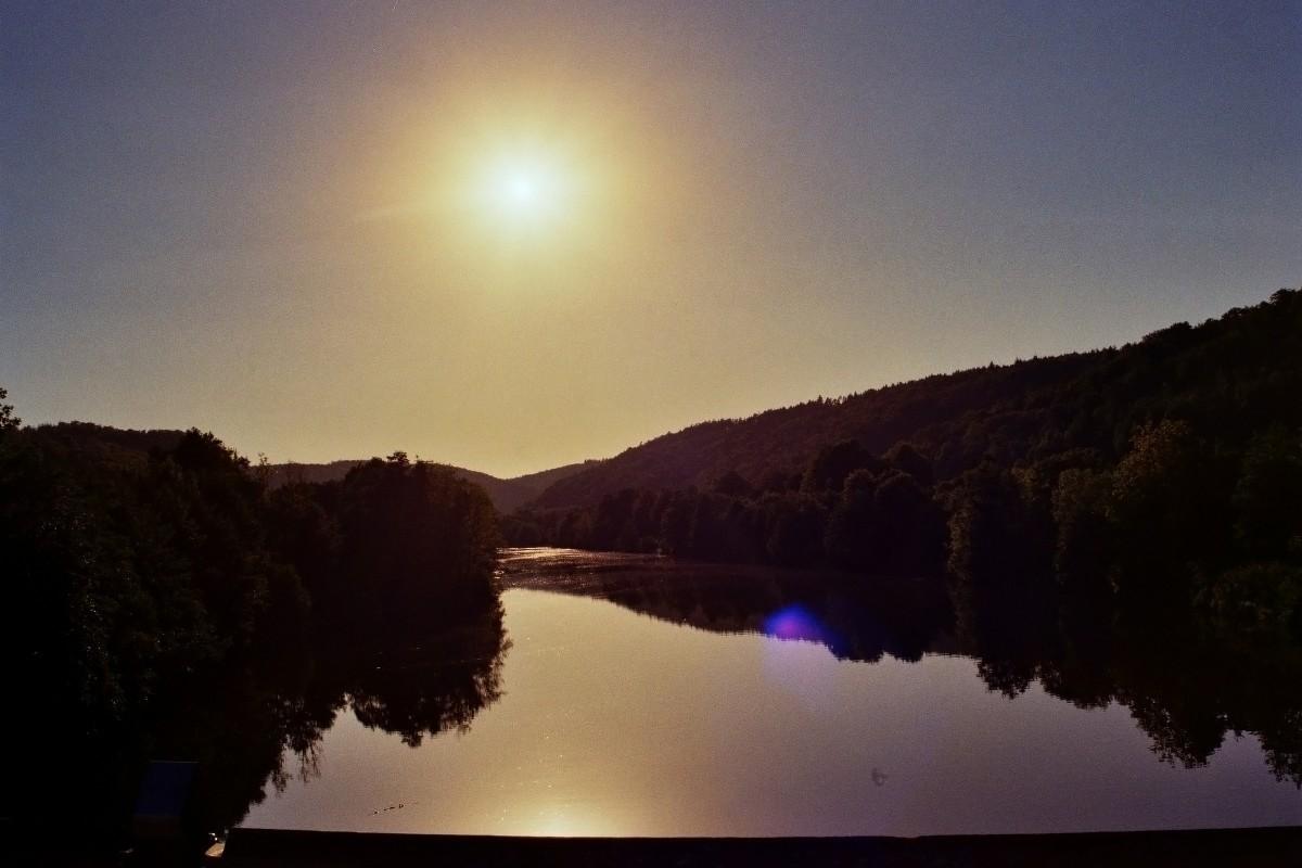 Abendsonne über Kehlheim