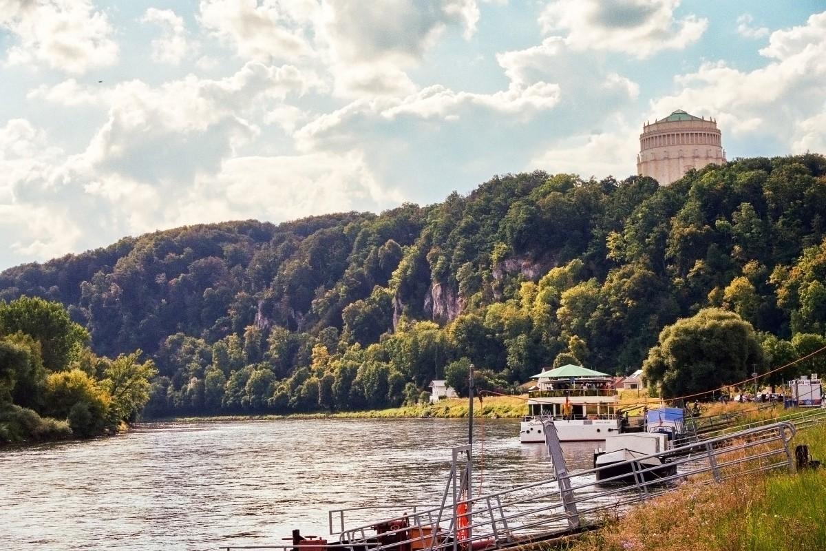 Schiffsanlegestelle Kelheim Donau