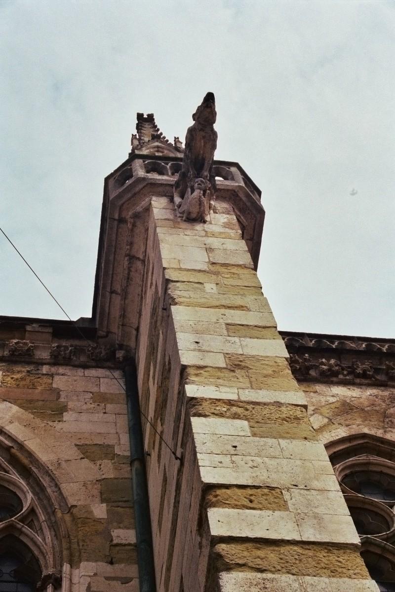 Figur am Regensburger Dom